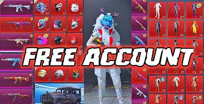 Free PUBG Lite Account ID and Password 2021
